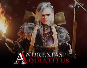 3D Andrexias of Anquiatitus Female Knight