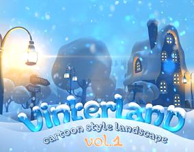 3D asset Vinterland