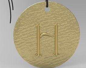 3D print model Alphabet Latin H