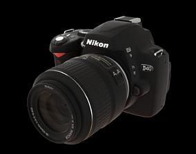 Nikon D40 3D model