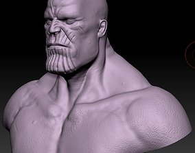 other 3D printable model Thanos Bust