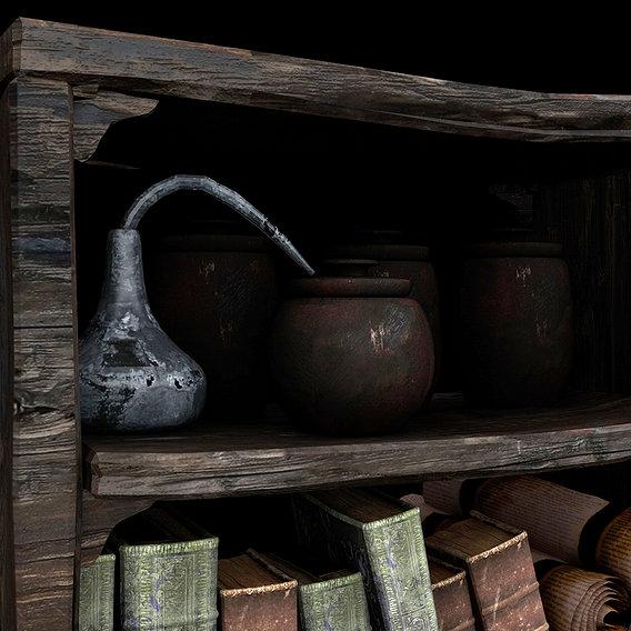 Medieval magic showcase