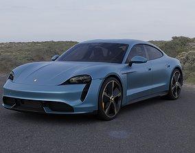 3D model Porsche Taycan Turbo S