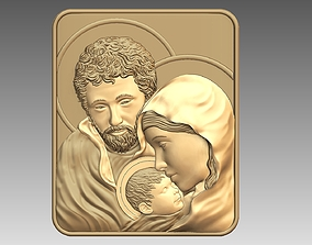Mary and Joseph holy family 3D printable model