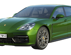 sportcar Porsche Panamera GTS Sport Turismo 2019 3D