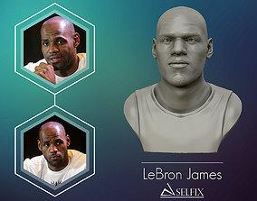 3dprint 3D Sculpture of LeBron James