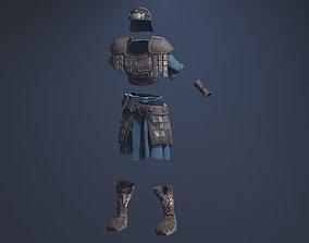 3D asset realtime Scout Armor