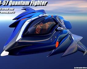 TB-57 Quantum Fighter 3D