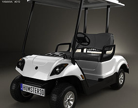 3D Yamaha Golf Car Fleet 2012