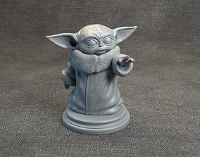 Baby Yoda - Star Wars The Mandalorian 3D print model