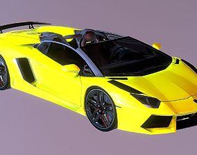 Lamborghini Aventador S Roadster 3D model