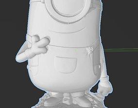 3D print model Minions - Carl - Hi RES with Base