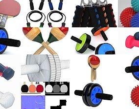 3D Collection Sport Equipment