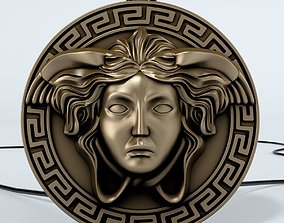 italy 3D print model Versace logo