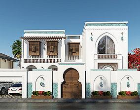 3D islamic villa