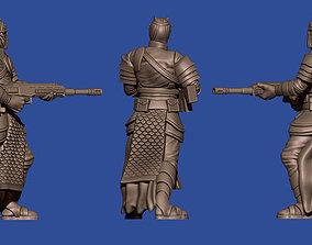 3D print model 28mm squad of sci-fi Arab soldiers