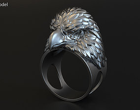3D printable model Eagle vol2 ring