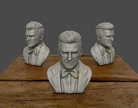 people David Beckham 3D Sculpture