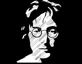 3D John Lennon