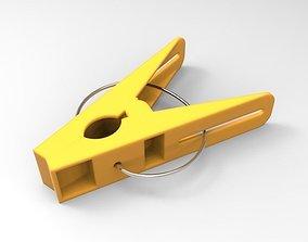 Clothespin clothespin 3D model