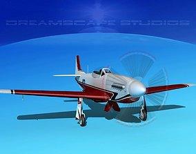 3D model P-51 Mustang Sport V06