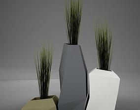3D Modern plant living