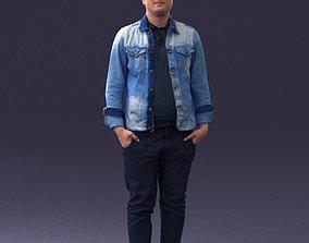 Jeans jacket 0721 3D Print Ready