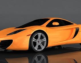 3D model realtime McLaren MP4 12C