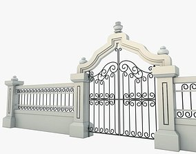 3D model Gate Decorative