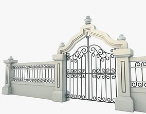 3D model Gate Decorative