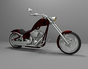 Big Dog K9 Chopper Motorcycle 3D Printable Model