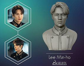 Lee Min Ho 3D portrait model