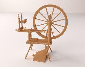 Spinning Wheel 3D