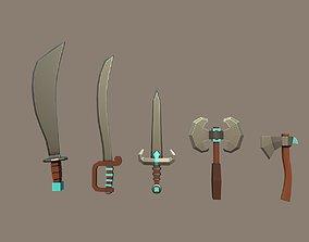 Knife Pack 3D asset