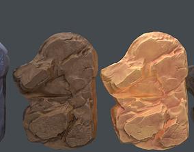 Rocks for far view 3D asset