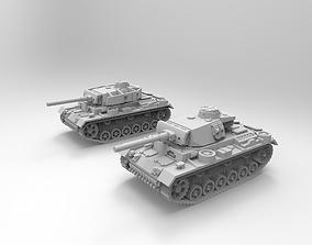 Panzer III 3D printable model