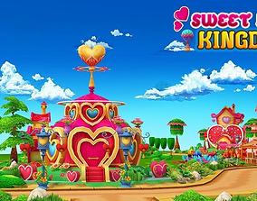 Sweet Love Kingdom 3D asset