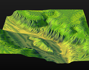 3D model Highlands 3