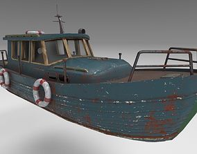Motorboat Krab-800 3D asset