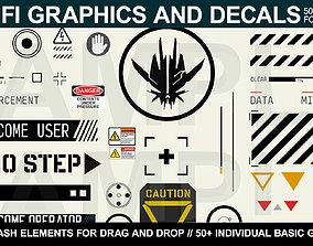 graphics 3D Sci-fi Graphics and Decals