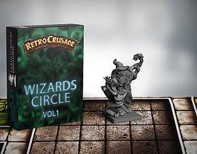 Retrocrusade Sorcerer 3D printable model