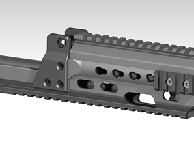 G36KA4 Slim line rail 3D print 3D print SRC brand