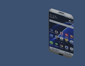 3D model Samsung galaxy s7 edge