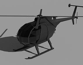 AH-6 Little Egg 3D model