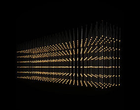 Chandelier minimalist 3D