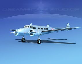 Lockheed L10 Electra Delta Airlines 3D
