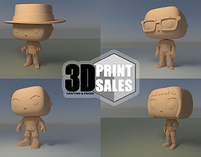4x3 Promo Pack 1 - Custom Pop 3D Printable Models