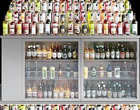 Alcohol Showcase 12 3D model
