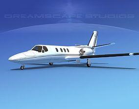 Cessna 500 Citation I V08 3D