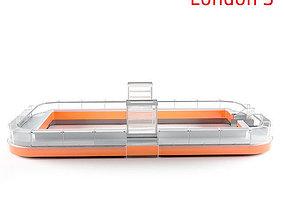 Refregirated showcase London3 3D